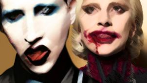 Marilyn Manson y Lady Gaga según mi mente retorcida