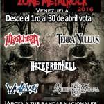 Premios Zone Metal Rock 2016