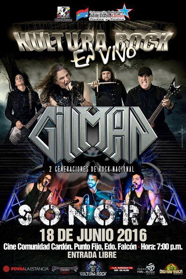 Kultura Rock en Vivo –  Banda Gillman y Sonora