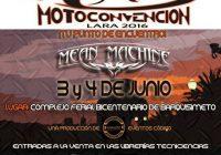 Moto Convención Lara 2016 junto a Mean Machine