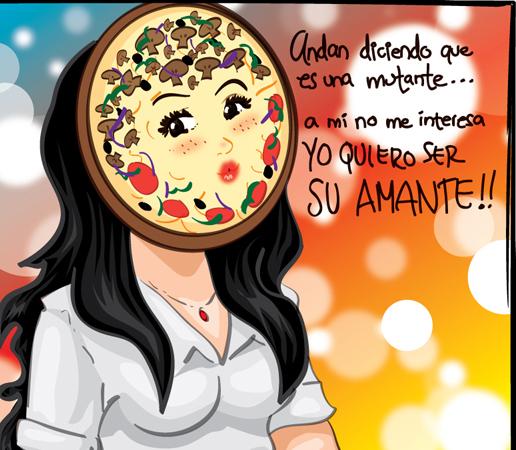 """""""Señorita Cara de Pizza"""" de Cuca"""