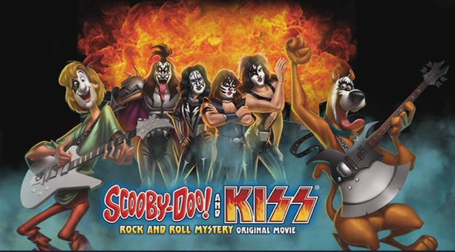 """Scooby-Doo! y Kiss """"El misterio del Rock and Roll"""""""