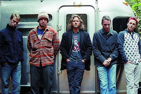 Pearl Jam invitó a sus cinco bateristas a la ceremonia del Rock and Roll Hall of Fame