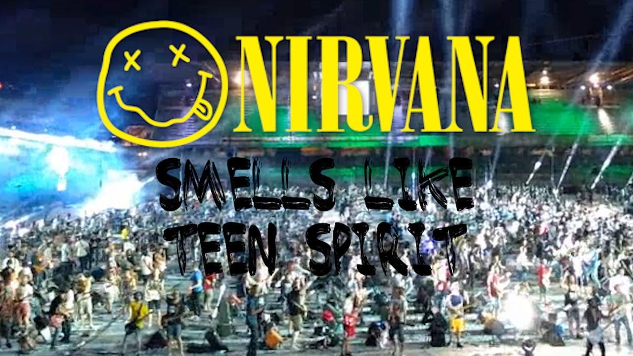 Smells Like Teen Spirit de Nirvana tocado por 1.000 músicos