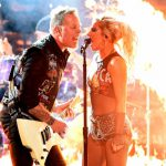 Aparatosa Presentacion de Metallica y Lady Gaga en los Grammy