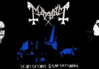 Mayhem Presentacion en New York -De Mysteriis Dom Sathanas-