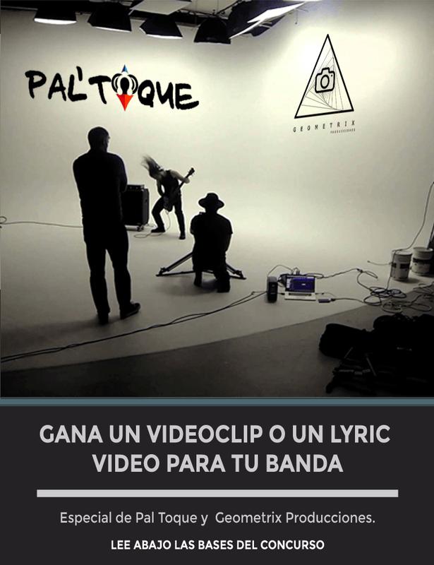 Gana un Video musical con  Pal' Toque y Geometrix Producciones