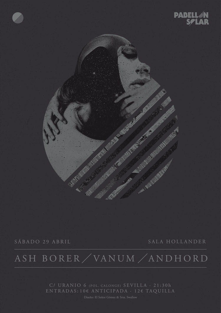 ASH BORER, VANUM,  ANDHORD en Sevilla España el 29 de Abril