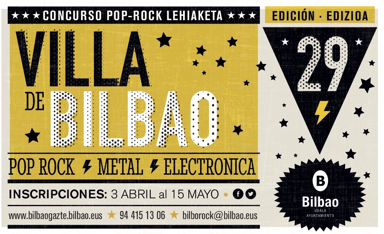 Concurso Villa de Bilbao 2017 y sus 38 seleccionados