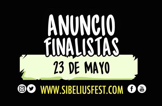 SibeliusFest 2017 FINALISTAS