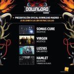 Presentación oficial Download Festival Madrid 2017