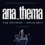 Anathema en Madrid y Barcelona