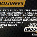 Nominados al ROCK AND ROLL HALL OF FAME 2018