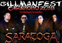 GillmanFest Carabobo 2018 Presenta a Saratoga