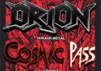 Orion se Presenta en EMU Rock Bar Junto a Cosmic Pass