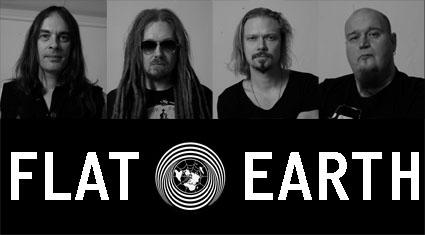 Flat Earth es la banda que une antiguos integrantes de Him y Amorphis