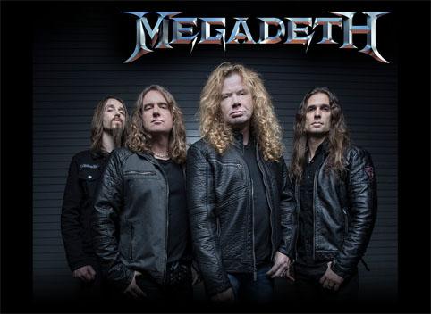 Megadeth añade ciudades a su próxima gira por Latinoamérica