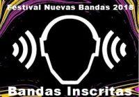Bandas Inscritas en el Festival Nuevas Bandas 2018 Venezuela