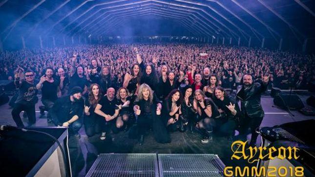 Ayreon como nunca antes lo has visto en un festival: Graspop Metal Meeting 2018