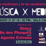 Música por Medicinas ya tiene fecha, Venezuela