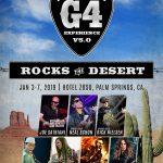 """G4 Experience V5.0: Rocks the Desert"" de Joe Satriani"