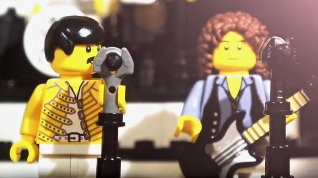"Baila al ritmo de ""Don't Stop Me Now"" deQueen con Lego"