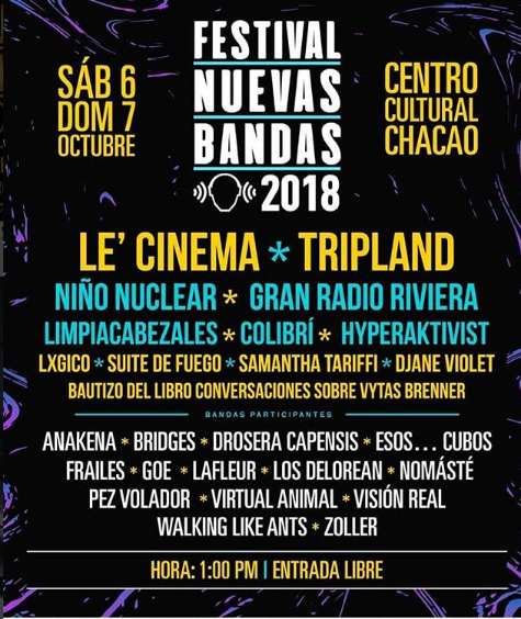 Todo listo para el Festival Nuevas Bandas