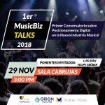 Primer Conversatorio MusicBizTalks, Caracas