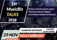 Visitamos el Conversatorio «MusicBiz TALKS 2018»