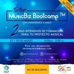 Taller MusicBiz Bootcamp sobre Branding Musical