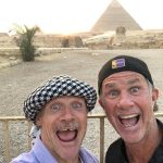 Red Hot Chili Peppers realiza concierto en las Pirámides de Giza