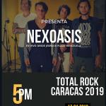 Nexoasis se presentará en el Total Rock Caracas