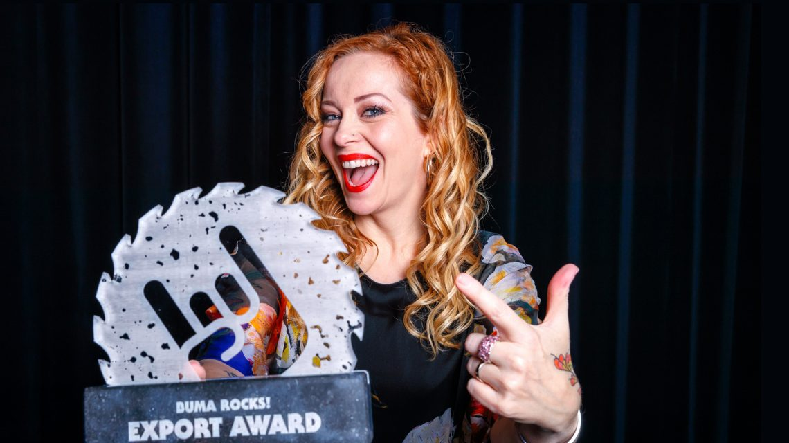 "Anneke Van Giersbergen recibirá el premio ""Buma ROCKS"""