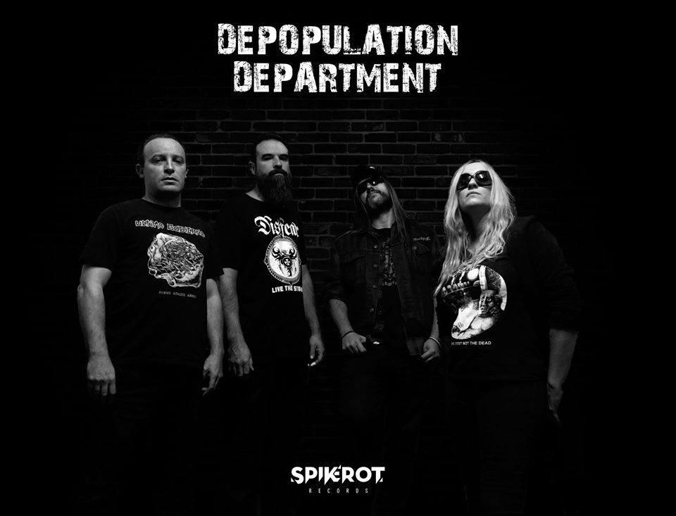 Depopulation Department es fichada por el sello Spikerot Records