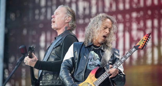 Basurero es dejado tras el concierto de Metallica en Irlanda