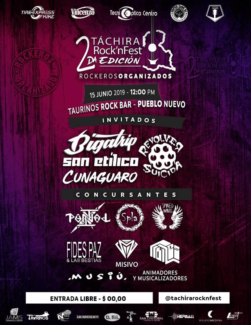 Táchira Rock'nFest 2da Edición – Venezuela
