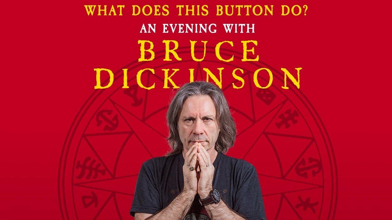 """""""An Evening With Bruce Dickinson"""" en España"""