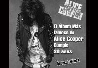 El álbum más famoso de Alice Cooper «Trash» cumple 30 años