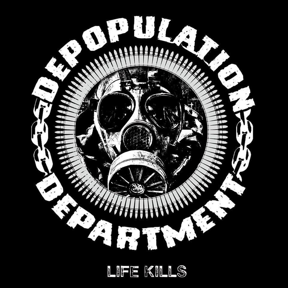 "El Ep Debut ""Life Kills"" de Depopulation Department ¡está por llegar!"