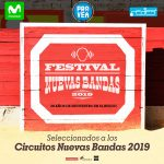 Seleccionados regionales, Festival Nuevas Bandas 2019