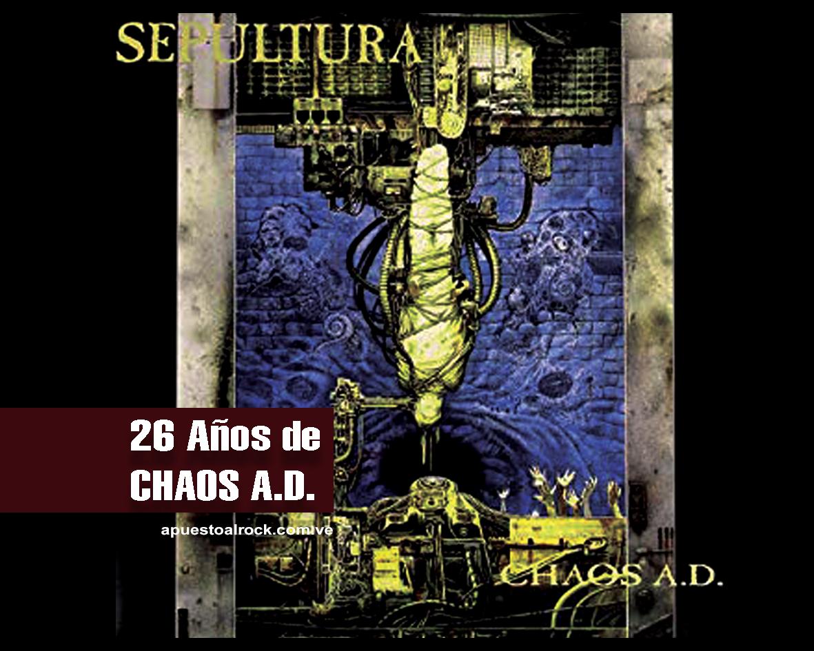 """""""Chaos A.D."""" de Sepultura"""