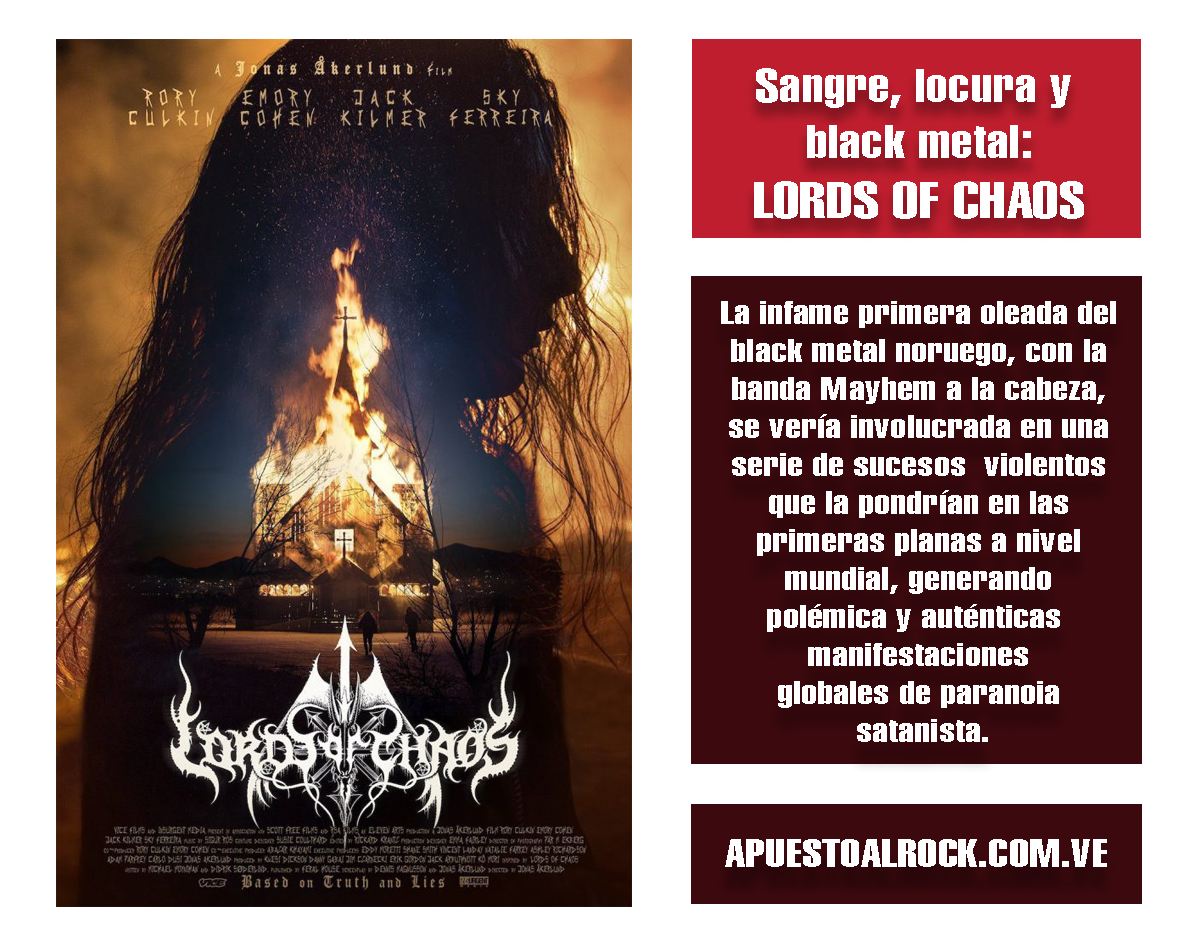 Sangre, locura y black metal: Lords of Chaos