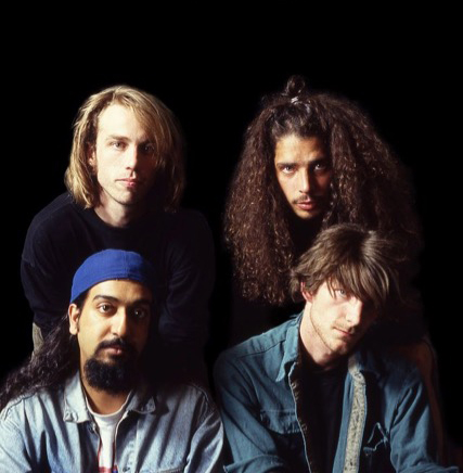 "Soundgarden en un nuevo libro ""Dark Black And Blue: The Soundgarden Story"""
