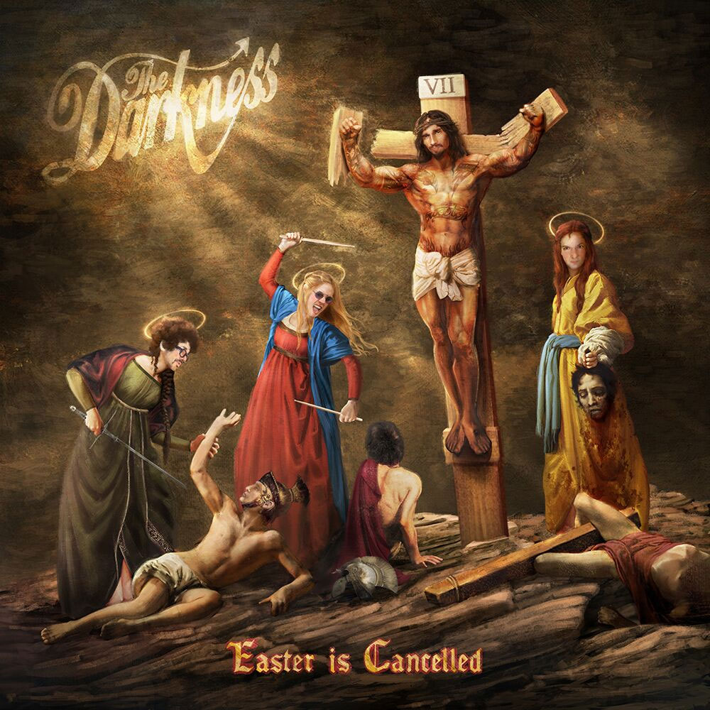 "Censuran la portada de ""Easter Is Cancelled"" de The Darkness"
