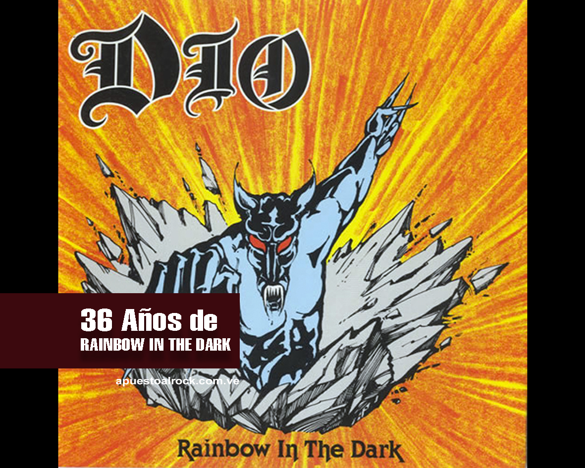 """Rainbow in the Dark"" de Dio"