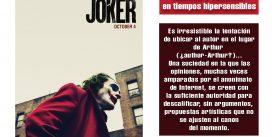 Joker: comedia y violencia en tiempos hipersensibles