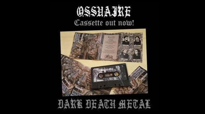 """OSSUAIRE  remasteriza  """"Mortes fables"""" EN CAsSETTE"""